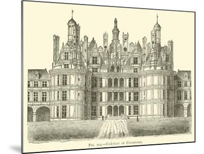 Chateau of Chambord--Mounted Giclee Print