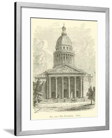 The Pantheon, Paris--Framed Giclee Print
