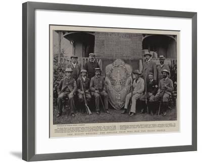 The Bisley Meeting, the English Team Who Won the Elcho Shield--Framed Giclee Print