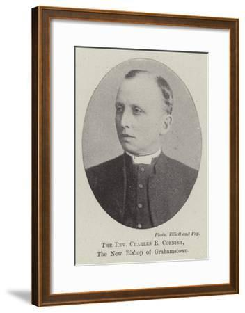 The Reverend Charles E Cornish, the New Bishop of Grahamstown--Framed Giclee Print