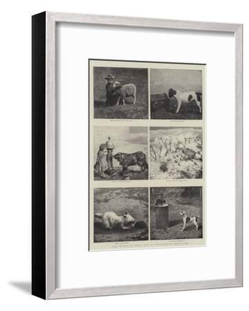 Some Studies of Animal Life by Instantaneous Photography--Framed Giclee Print