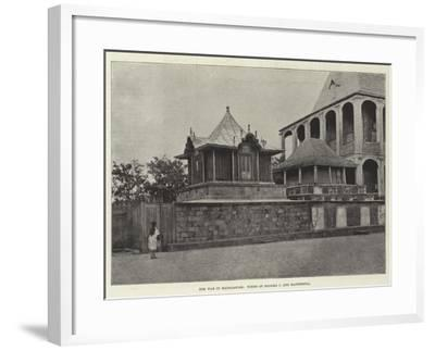 The War in Madagascar, Tombs of Radama I and Rasoherina--Framed Giclee Print