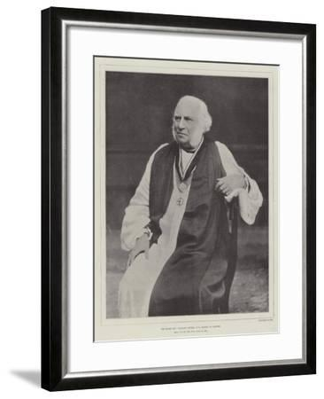 The Right Reverend William Stubbs, Dd, Bishop of Oxford--Framed Giclee Print