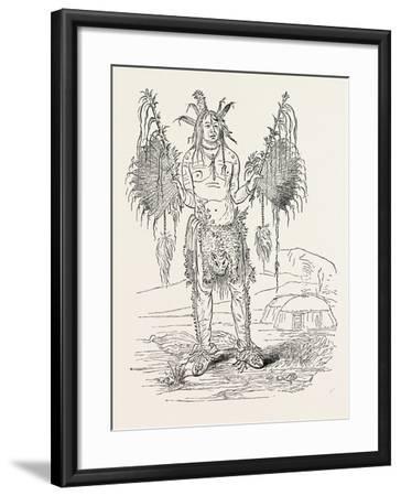 Indian Medicine Man, USA, 1870s--Framed Giclee Print