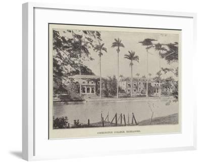 Codrington College, Barbadoes--Framed Giclee Print