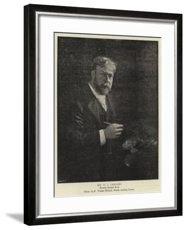 Mr E J Gregory--Framed Giclee Print