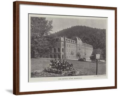 The Central Baths, Marienbad--Framed Giclee Print