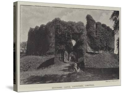 Restormel Castle, Lostwithiel, Cornwall--Stretched Canvas Print