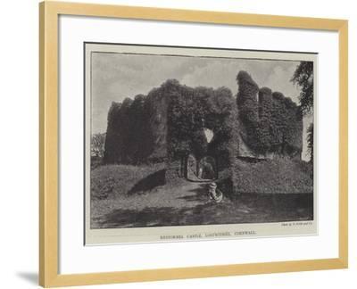 Restormel Castle, Lostwithiel, Cornwall--Framed Giclee Print