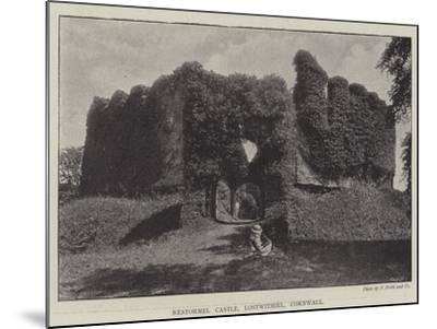 Restormel Castle, Lostwithiel, Cornwall--Mounted Giclee Print