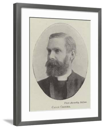 Canon Crozier--Framed Giclee Print