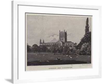 Tewkesbury Abbey, Gloucestershire--Framed Giclee Print