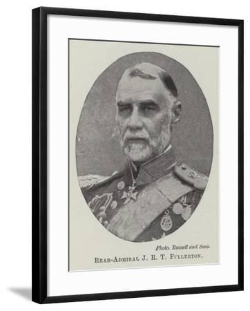 Rear-Admiral J R T Fullerton--Framed Giclee Print