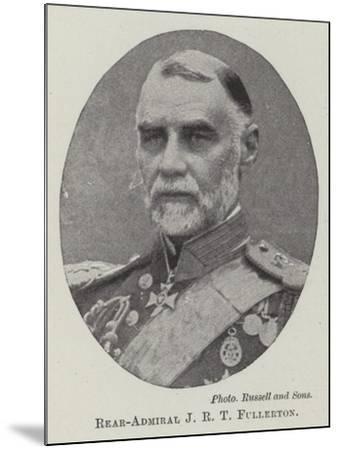 Rear-Admiral J R T Fullerton--Mounted Giclee Print
