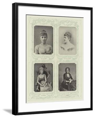 Aristocracy--Framed Giclee Print