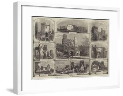 Places Near Hastings Visited by the British Archaeological Association--Framed Giclee Print