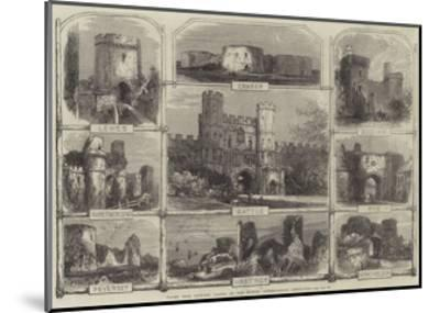 Places Near Hastings Visited by the British Archaeological Association--Mounted Giclee Print