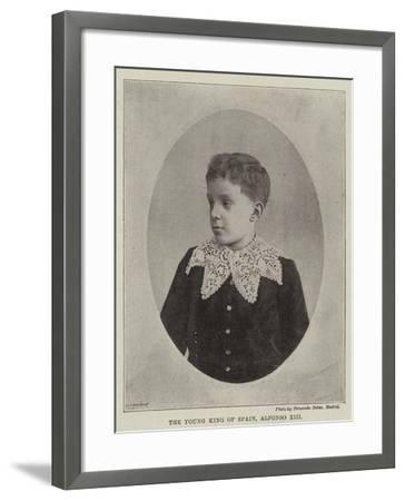 The Young King of Spain, Alfonso XIII--Framed Giclee Print