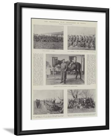 The Transvaal War, Defenders of Natal--Framed Giclee Print