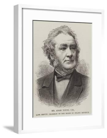 Mr Adam Young, Cb, Late Deputy Chairman of the Board of Inland Revenue--Framed Giclee Print