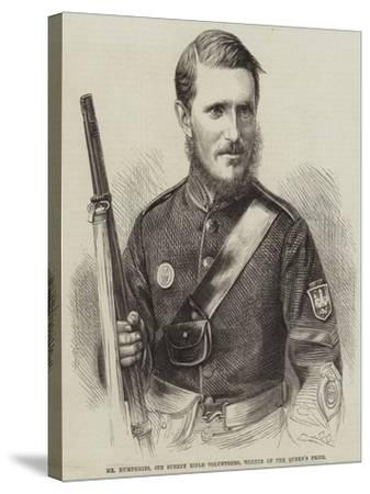 Mr Humphries, 6th Surrey Rifle Volunteers, Winner of the Queen's Prize--Stretched Canvas Print
