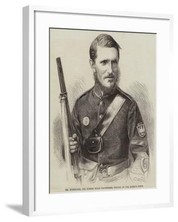 Mr Humphries, 6th Surrey Rifle Volunteers, Winner of the Queen's Prize--Framed Giclee Print