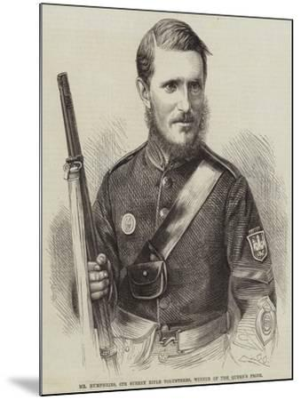Mr Humphries, 6th Surrey Rifle Volunteers, Winner of the Queen's Prize--Mounted Giclee Print