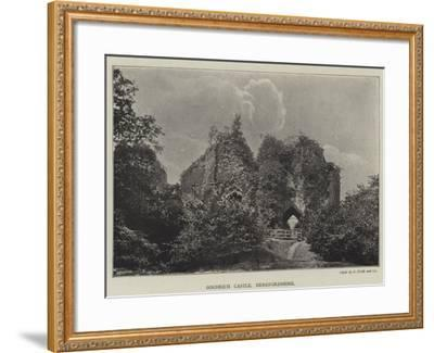 Goodrich Castle, Herefordshire--Framed Giclee Print