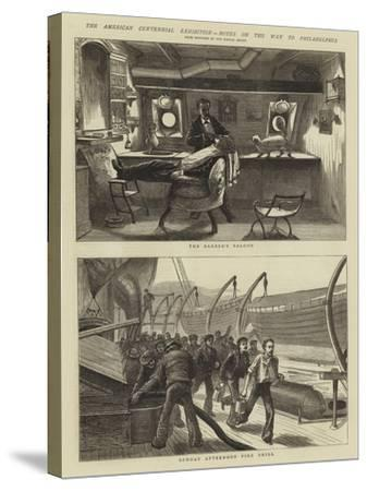 The American Centennial Exhibition, Notes on the Way to Philadelphia--Stretched Canvas Print