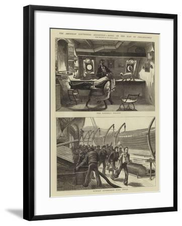 The American Centennial Exhibition, Notes on the Way to Philadelphia--Framed Giclee Print