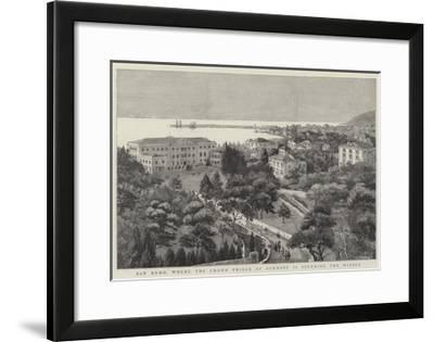 San Remo, Where the Crown Prince of Germany Is Spending the Winter--Framed Giclee Print
