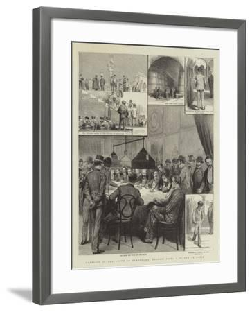 Gambling in the South of Europe, Mr Wildair Tries a System at Cadiz--Framed Giclee Print