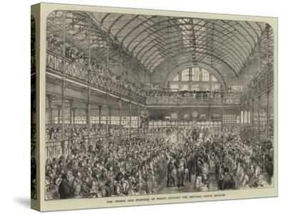 The Prince and Princess of Wales Opening the Bethnal Green Museum--Stretched Canvas Print