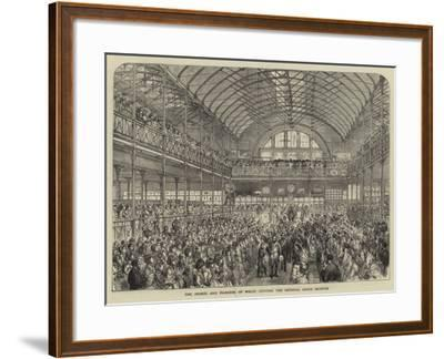 The Prince and Princess of Wales Opening the Bethnal Green Museum--Framed Giclee Print