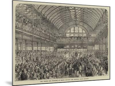 The Prince and Princess of Wales Opening the Bethnal Green Museum--Mounted Giclee Print
