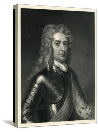 Portrait of John Churchill, 1st of Duke of Marlborough (1650-1722)--Stretched Canvas Print