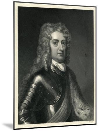 Portrait of John Churchill, 1st of Duke of Marlborough (1650-1722)--Mounted Giclee Print