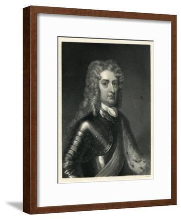 Portrait of John Churchill, 1st of Duke of Marlborough (1650-1722)--Framed Giclee Print