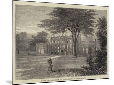 Camden Place, Chiselhurst, the Residence of the Ex-Empress Eugenie--Mounted Giclee Print