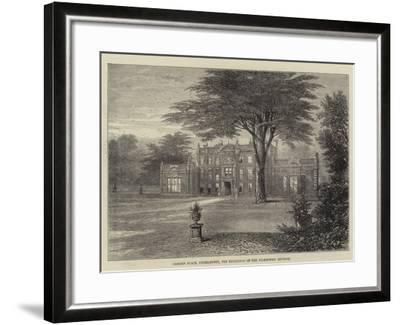 Camden Place, Chiselhurst, the Residence of the Ex-Empress Eugenie--Framed Giclee Print