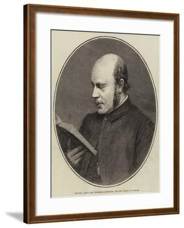 The Reverend Canon and Professor Lightfoot, the New Bishop of Durham--Framed Giclee Print