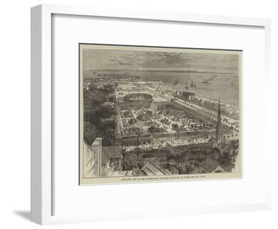 Bird'S-Eye View of the International Maritime Exhibition at Havre--Framed Giclee Print