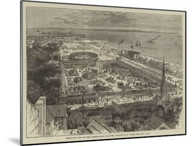 Bird'S-Eye View of the International Maritime Exhibition at Havre--Mounted Giclee Print