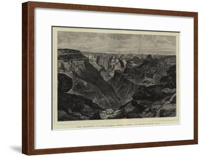 The Transept in the Kaibab, Grand Canon, Colorado River, Usa--Framed Giclee Print