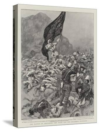 The Battle of Omdurman, the Fight for the Khalifa's Standard--Stretched Canvas Print