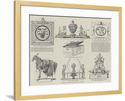 Exhibition of the Queen's Jubilee Gifts at St James's Palace--Framed Giclee Print