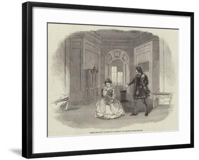 Scene from the Legend of Florence, at Sadler's Wells Theatre--Framed Giclee Print
