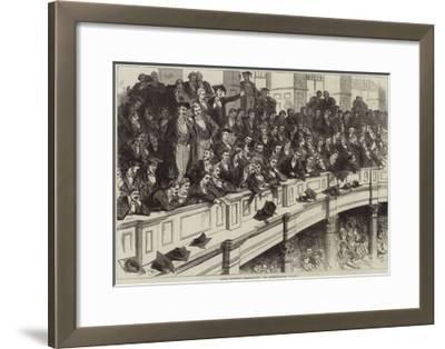 Oxford University Commemoration, the Undergraduates' Gallery--Framed Giclee Print