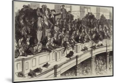 Oxford University Commemoration, the Undergraduates' Gallery--Mounted Giclee Print
