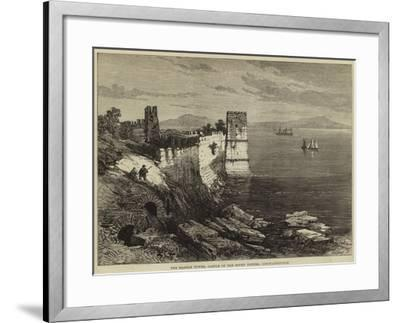 The Marble Tower, Castle of the Seven Towers, Constantinople--Framed Giclee Print